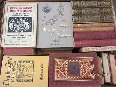 59 Bücher antiquarische Bücher