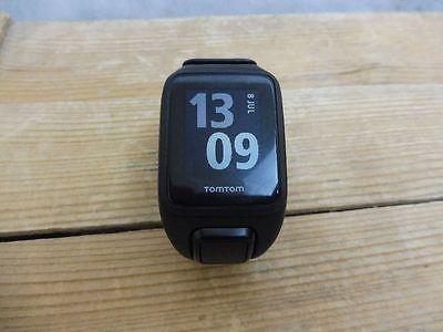 TomTom Runner 2 Cardio Fahrrad/Laufen/Schwimmen GPS-Uhr – Farbe Anthrazit