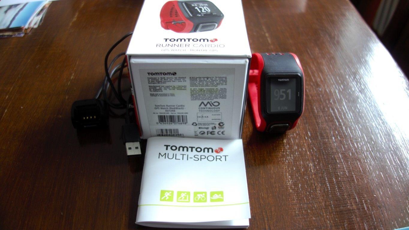 TomTom Runner Cardio.