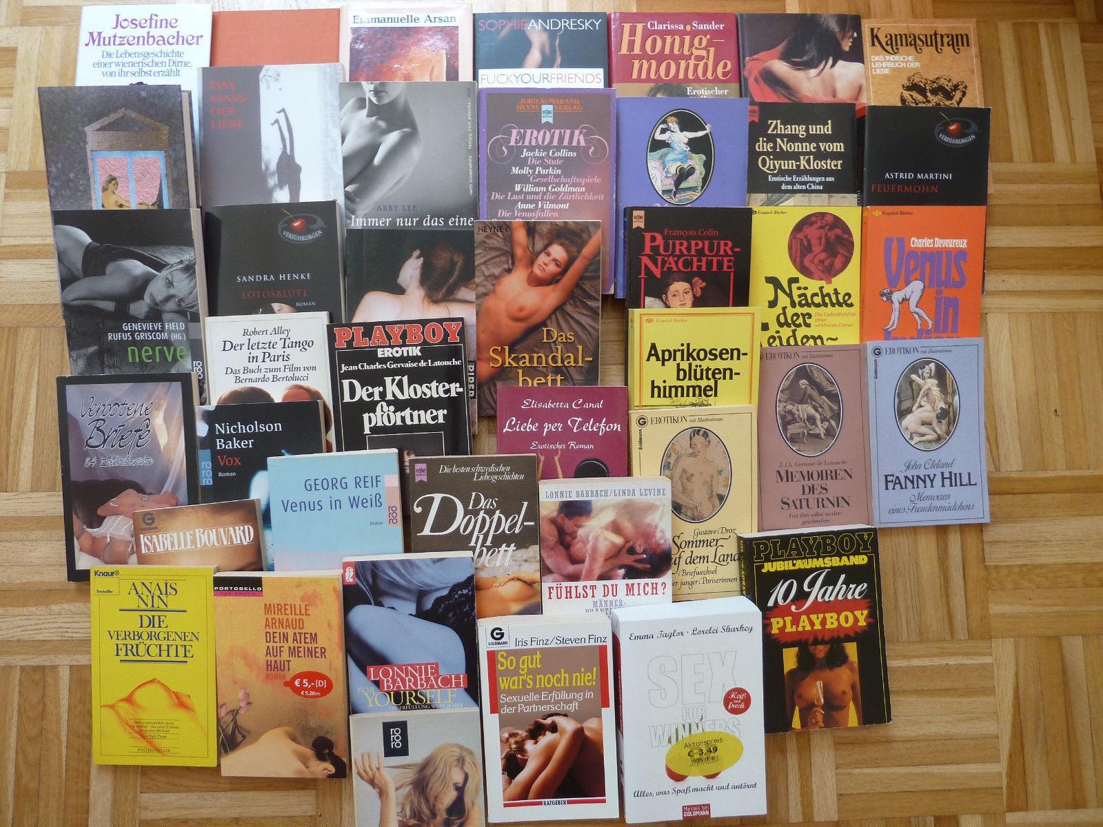 41x Bücher Erotik erotische Romane Sammlung Konvolut Posten