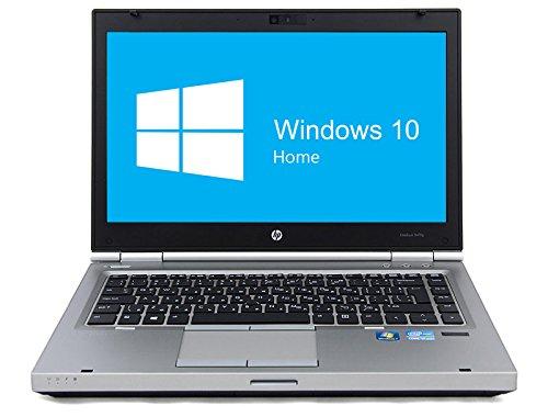 HP Elitebook 8470p Notebook | 14 Zoll Display | Intel Core i5-3320M @ 2,6 GHz | 4GB DDR3 RAM | 320GB HDD | DVD-Laufwerk | Windows 10 Home vorinstalliert (Zertifiziert und Generalüberholt)