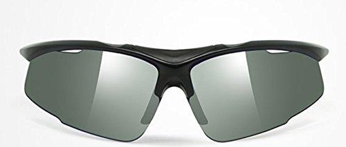 icefox Sonnenbrille Sport für Herren und Damen, Polarisierte Fahrradbrille, Sportbrille mit 5 Wechselobjektive für das Fahren | Radfahren | Laufen | Skifahren | Angeln