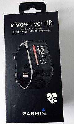 Garmin vivoactive HR, Sport-GPS Smartwatch mit Herzfrequenzmessung am Handgelenk