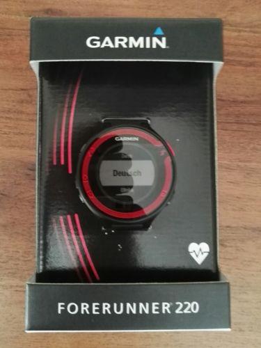 Garmin Forerunner 220 GPS Running Uhr Brustgurt wie neu Rechnung