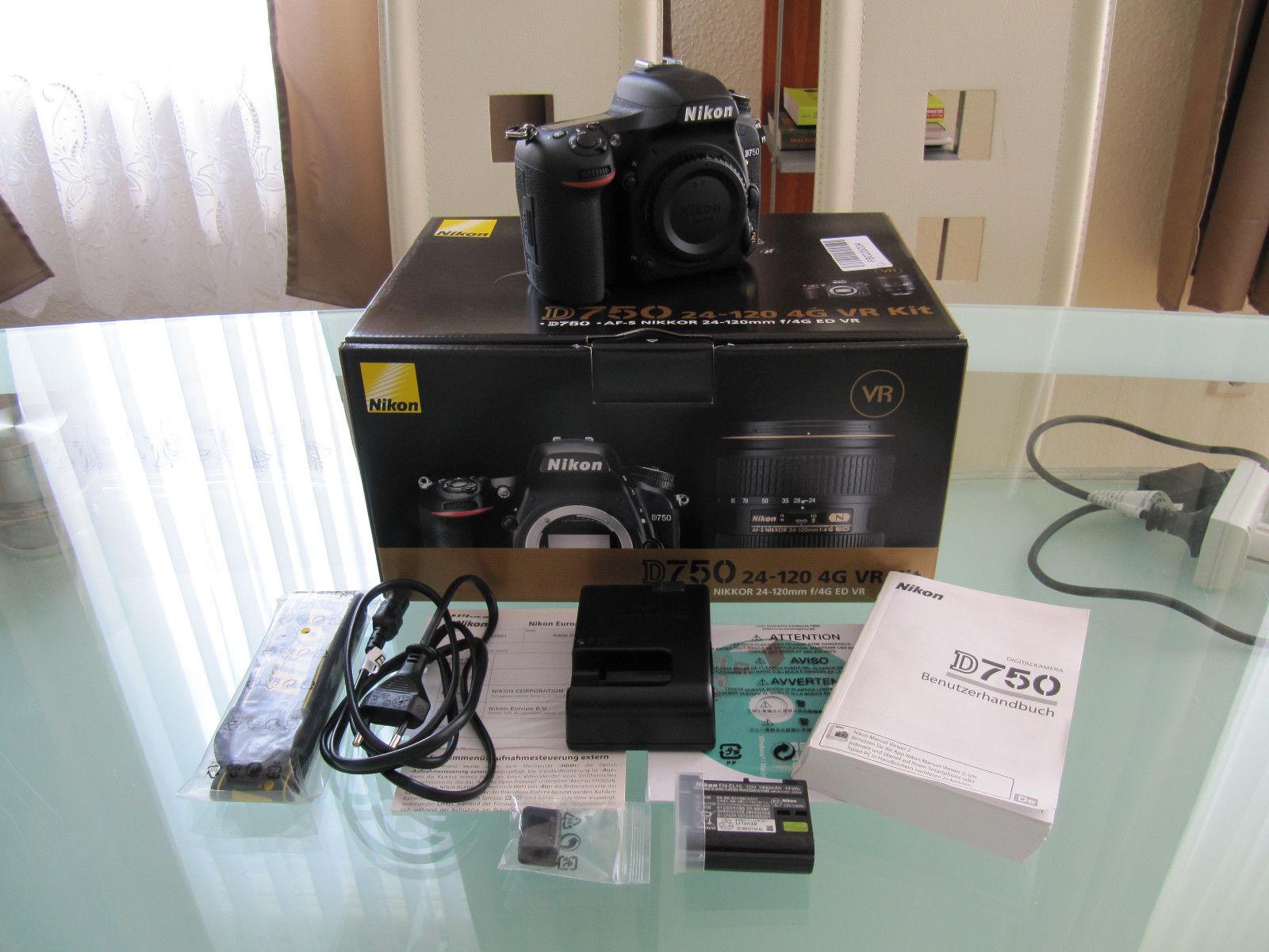 Nikon D750 Vollformat Spiegelreflex Body Neuwertig