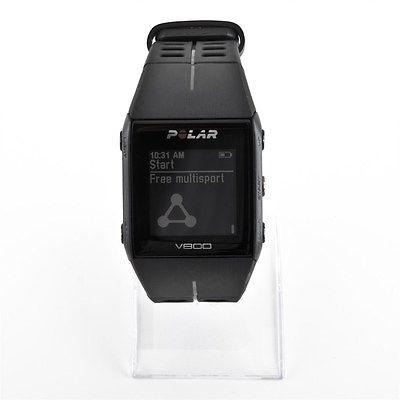 Polar V800 GPS-Pulsuhr Bluetooth schwarz Aktivitätsmesser ohne Brustgurt NEU