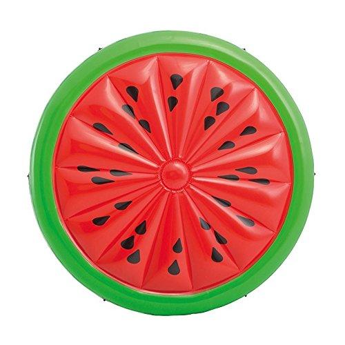 INTEX 56283 : Badeinsel Luftmatratze Melone Wassermelone 183 cm