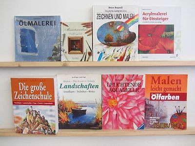 35 Bücher Malen Lernen Zeichnen Lernen Maltechniken Ölmalerei Zeichenschule