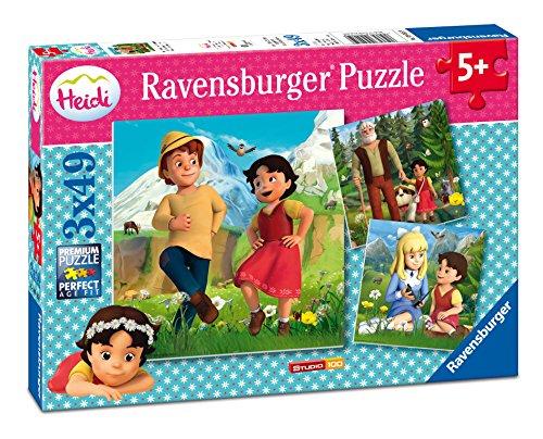 Ravensburger Puzzle 09405 - Heidi und ihre Freunde, bunt