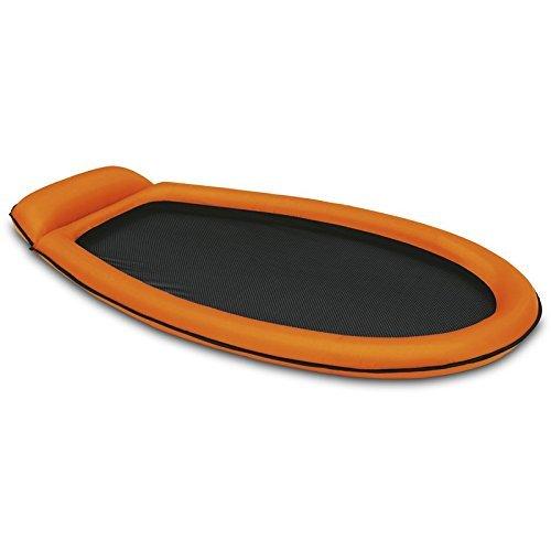 INTEX Mesh Lounge 178x94cm Luftmatratze Relaxeliege Luft Matratze Pool Liege (orange)
