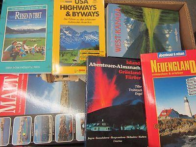 89 Bücher Reiseführer nationale und internationale Reiseführer