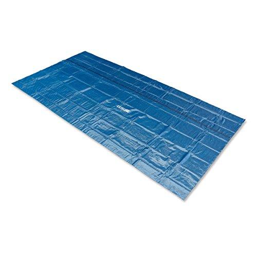 Leisure Profi Pool Solarabdeckplane schwarz/blau 420 x 210cm