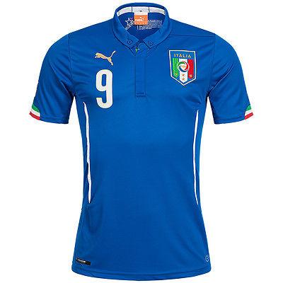 Italien PUMA Heim Trikot #9 Balotelli Herren Kinder Heimtrikot Home Italia neu