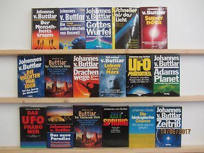 Johannes von Buttlar 17 Bücher Sachbücher Ausserirdische Verschwörungstheorien
