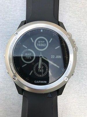 GARMIN fenix 3 HR silber, GPS Multisport Uhr, OVP, Top Zustand, Restgarantie