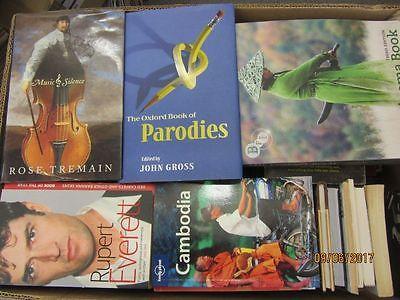 59 Bücher englische Bücher Romane Sachbücher Reiseführer Bildbände u.a.