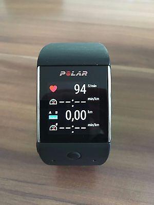 Polar M600 Smartwatch schwarz inkl. Originalverpackung und Rechnung