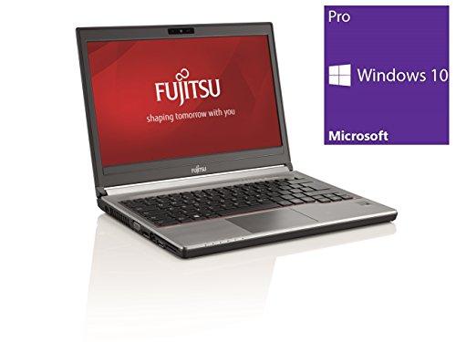 Fujitsu Lifebook E736 Notebook   13.3 Zoll Display   Intel Core i5-6300U @ 2,4 GHz   8GB DDR4 RAM   256GB SSD   DVD-Brenner   Windows 10 Pro (Zertifiziert und Generalüberholt)