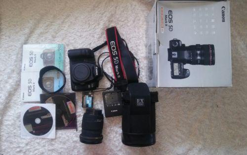 Canon EOS 5D Mark II mit Objektiv