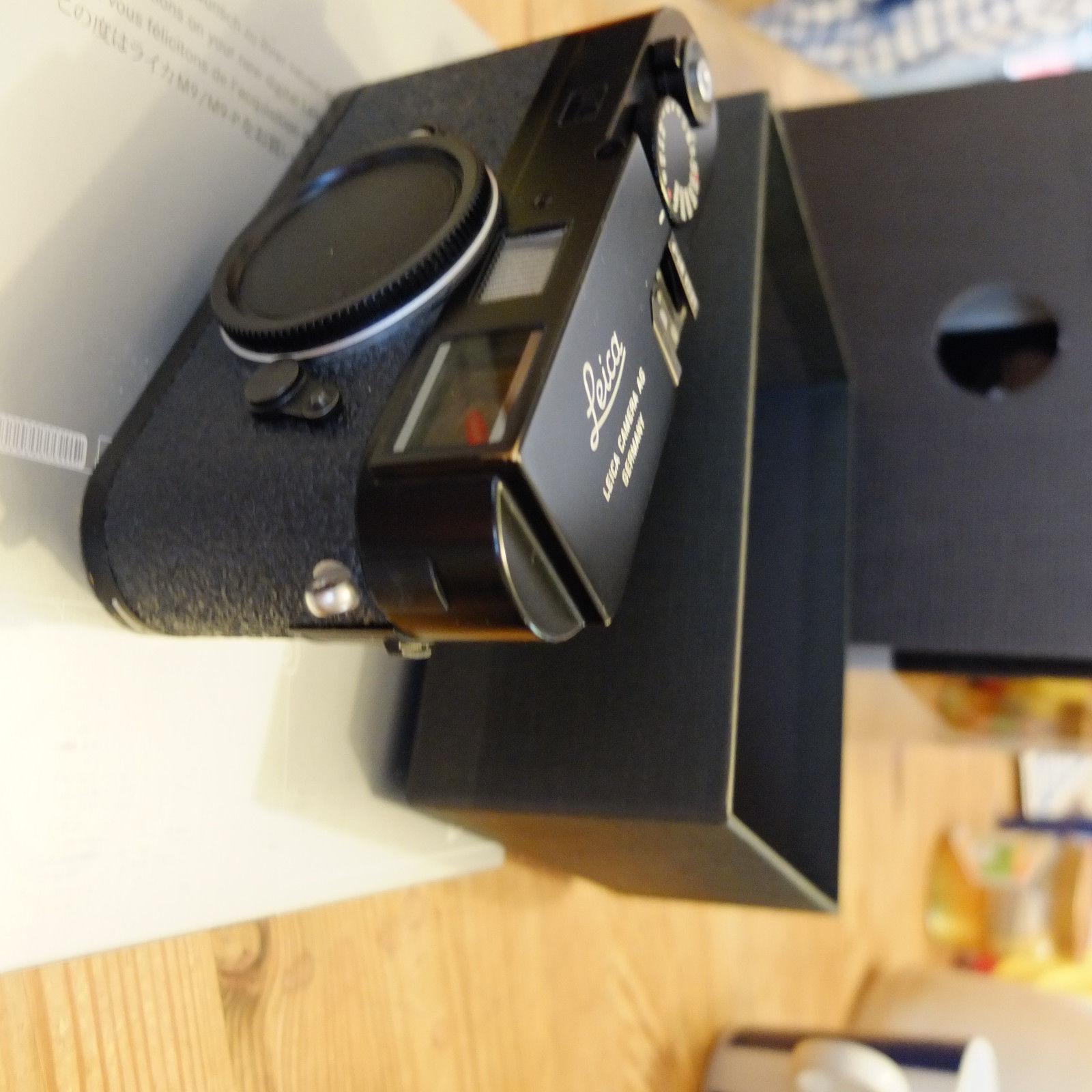 Leica M9-P schwarz  neuer Sensor