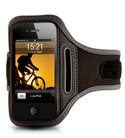 ActionWrap - Sport-Armband Tasche für Apple iPhone 4S / 4, iPhone 3GS & iPod Touch