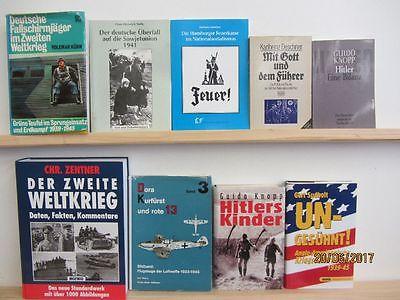 38 Bücher Bildbände Dokumentation 2. WK 3. Reich NSDAP Nationalsozialismus