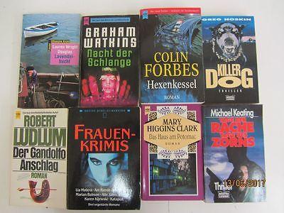75  Bücher Romane Krimi Thriller Detektivromane Spionageromane