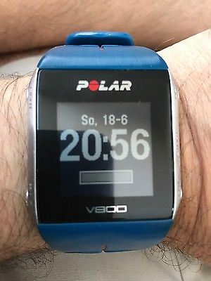 Polar V800 GPS Sportuhr Blau HR (inkl. Pulsgurt H7)