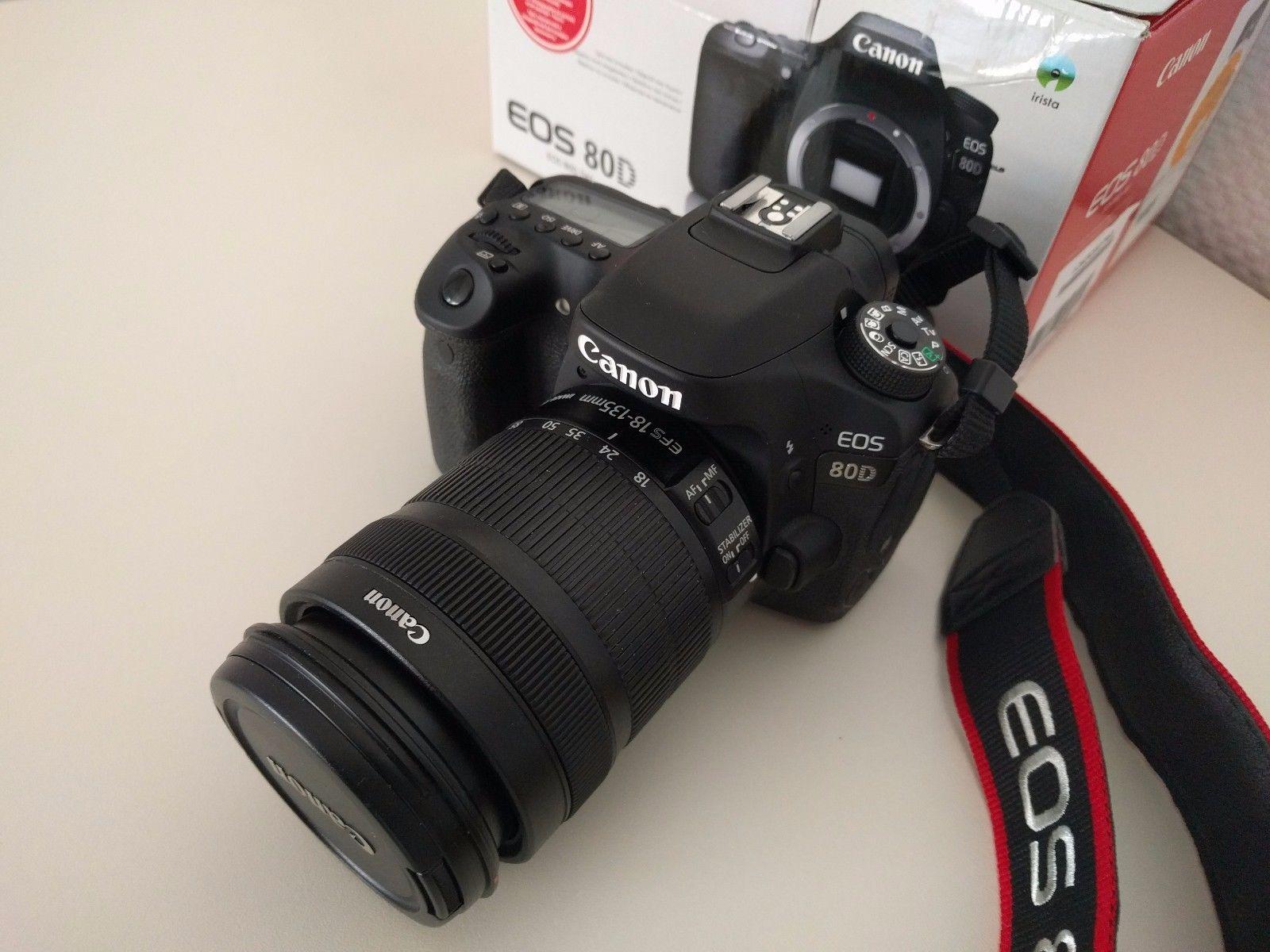 Canon EOS 80D mit Canon 18 135 IS STM Objektiv