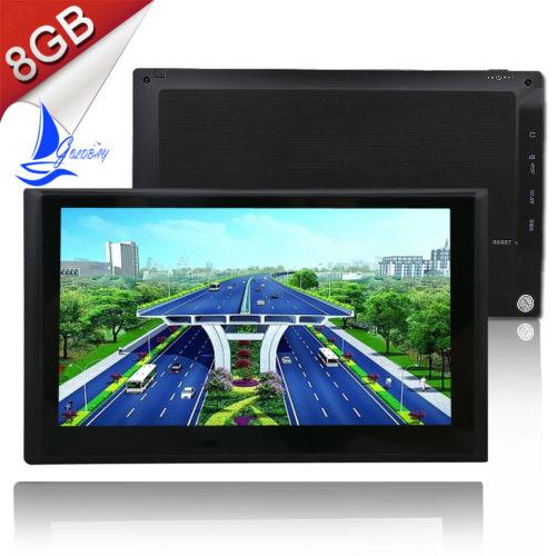 GOLD BAY 7 Zoll  PKW Navi Navigation Auto GPS EU Karten Navigationsgerät  8GB