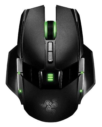 Razer Ouroboros Beidhändige Kabellose Gaming Maus (8.200 dpi und 11 programmierbare Tasten)