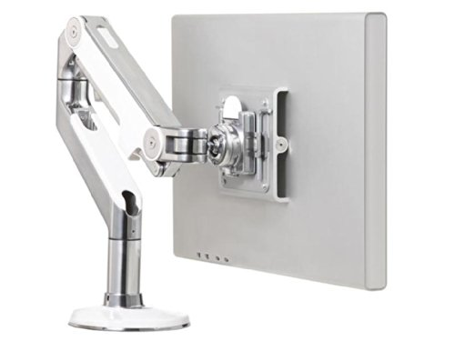 Humanscale M8BW1S Monitorhalterung, Metall, weiß, 680 x 140 x 520 cm