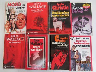 99 ältere Kriminalromane Krimi Detektivromane Spionageromane Thriller