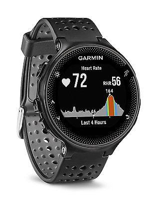 GARMIN Forerunner 235 WHR Schwarz Fitness Uhr Sport GPS Neu OVP