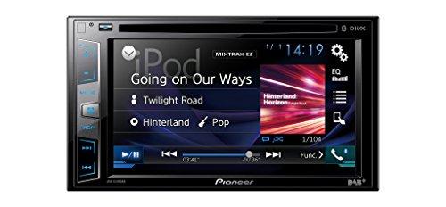 Pioneer AVH-X490DAB 15,7 cm (6,2 Zoll) Touchscreen • DAB+ digitales Autoradio • Media-Receiver mit USB, Bluetooth, CD/DVD, MP3 • fu?r iPhone und Android • Spotify und DIVX