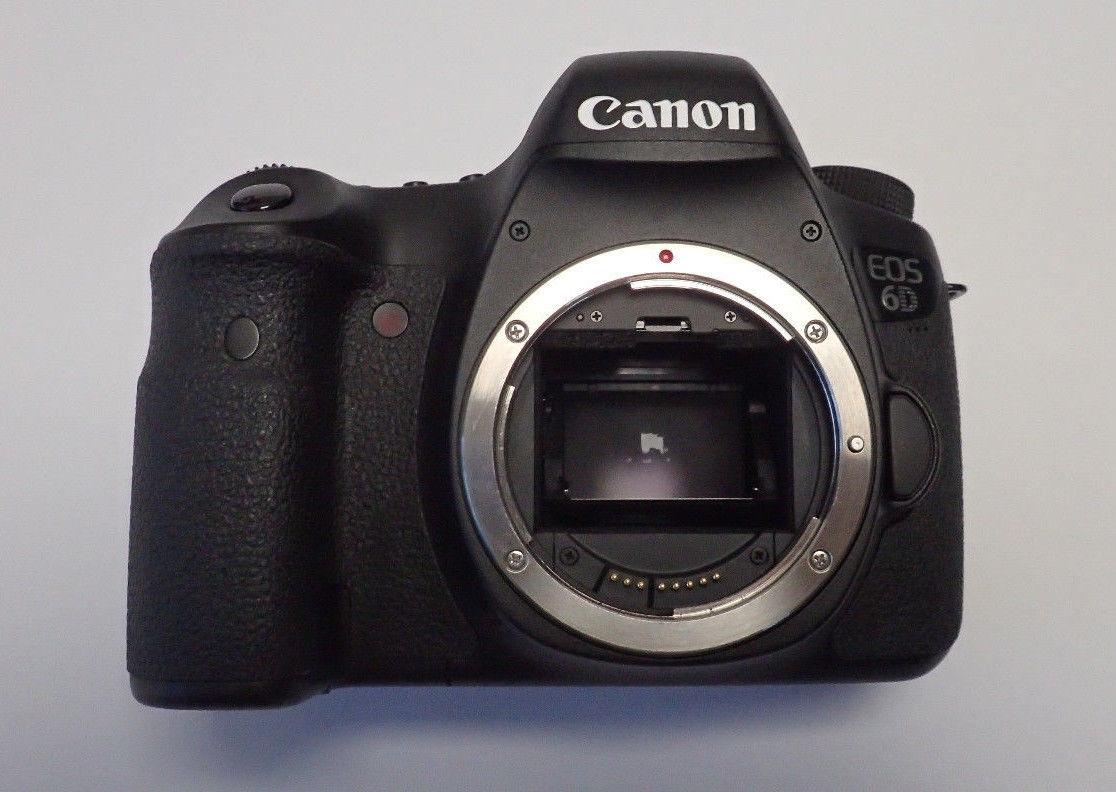 Canon EOS 6D Vollformat SLR-Digitalkamera  mit WLAN und GPS (nur Gehäuse)