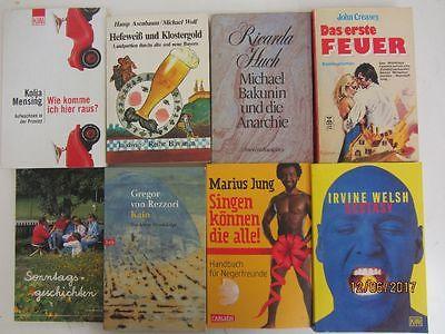 156 Bücher Taschenbücher verschiedene Verlage