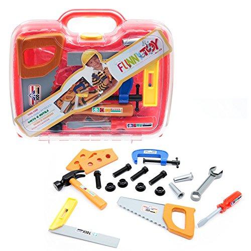 MAMATOY MMA12000  -  Funnytoy Werkzeugkoffer, Spielzeug, Groß, transparent