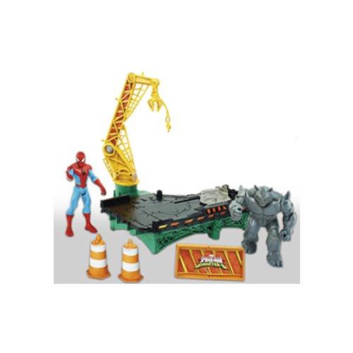 Hasbro Spider-Man B7199EU4 - Sinister 6 Web City Battle Spielset