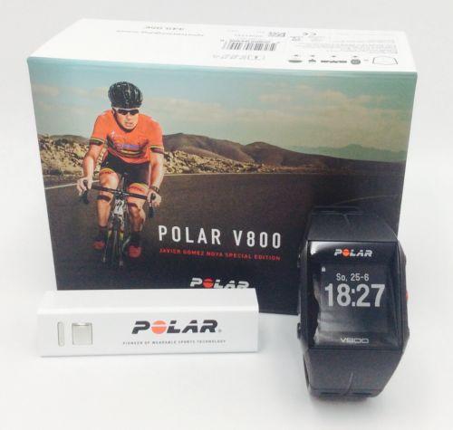 Polar V800 Javier Gomez Special Editon Black