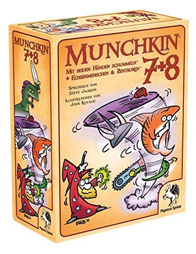 Pegasus Spiele 17226G - Munchkin 7+8