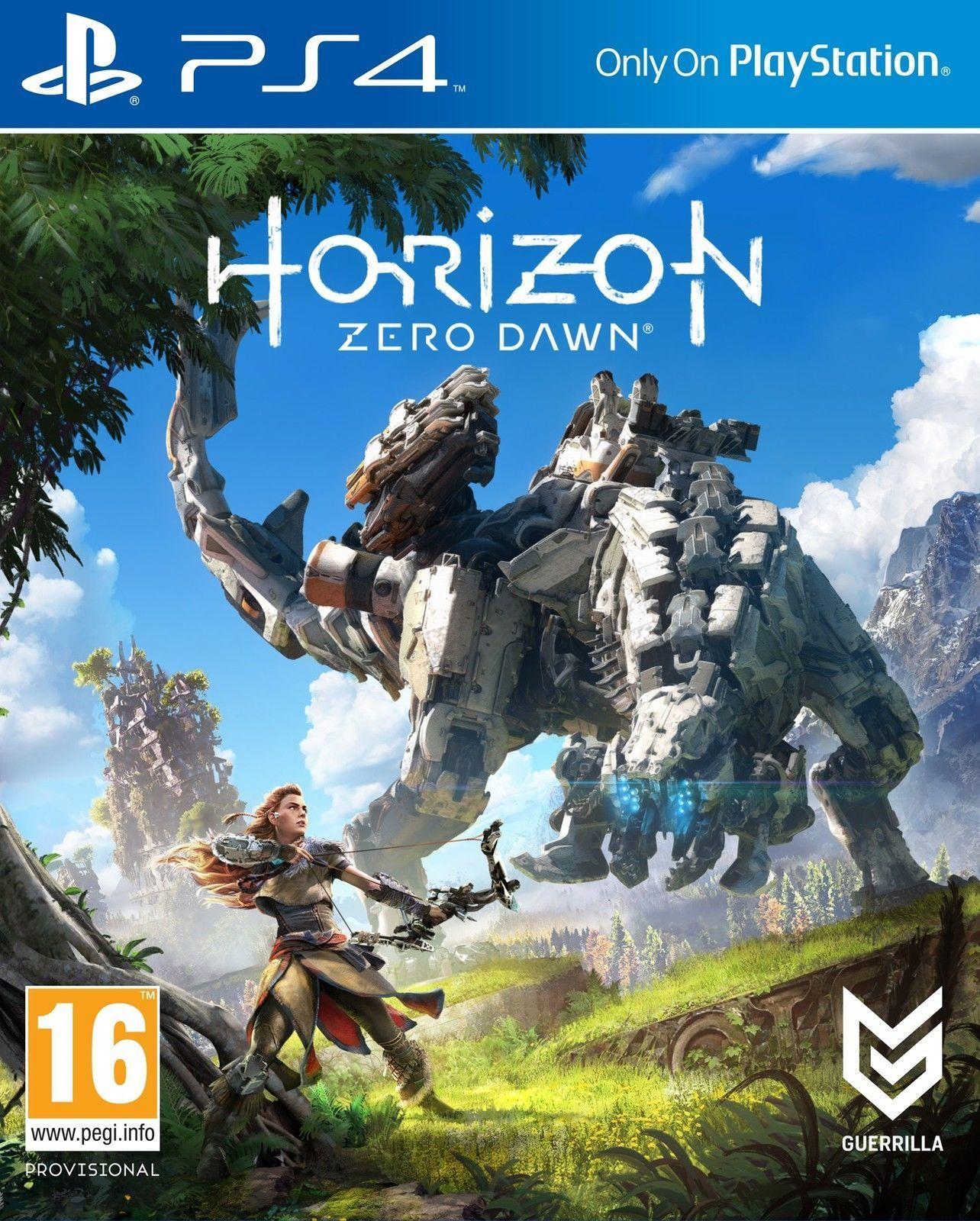 Horizon Zero Dawn Standard Edition PS4