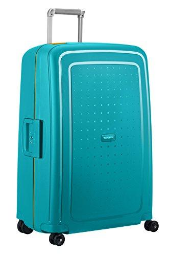 SAMSONITE S'Cure Spinner 75/28 Koffer, 75 cm, 102 L, Caribbean Blue/Pineapp.Yellow