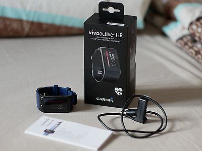 Garmin Sport GPS Smartwatch Vivoactive HR in OVP mit Restgarantie