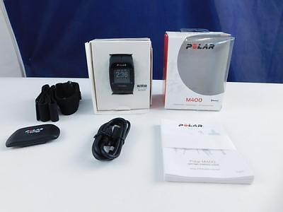 Polar M400 GPS Laufuhr, Aktivitätentracker, Fitnessuhr, Sportuhr, Schwarz