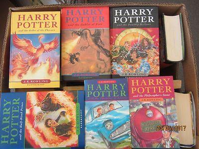 Joanne K. Rowling Harry Potter 29 Bücher Jugendromane Fantasyromane in englisch