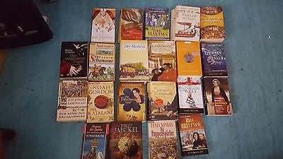 Bücherpaket 21 historische Romane * Mittelalter * Gordon, Kinkel, Gabaldon,Cross