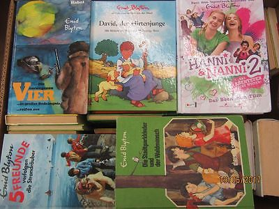 Enid Blyton 67 Bücher Kinderromane Jugendromane 5 Freunde Hanni und Nanni u.a.