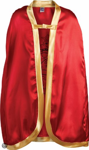Liontouch 10351 Knight Cape, Red, Noble Knight / Ritter-Umhang Edler Ritter, Rot/Gold