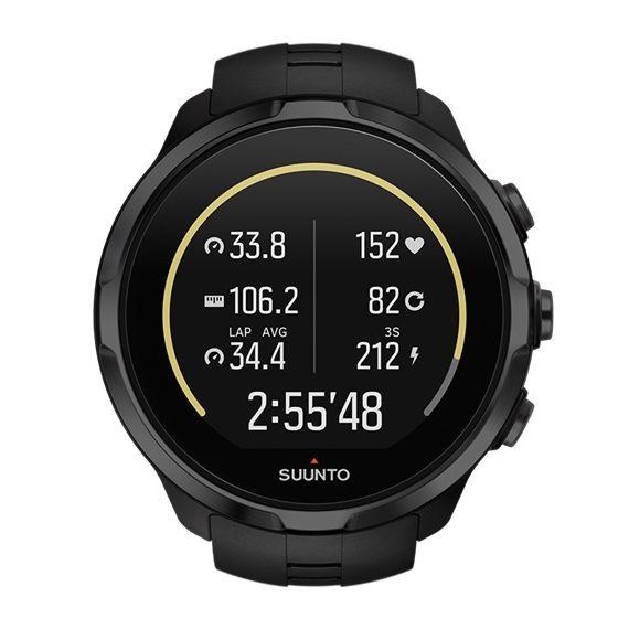 Uhren Suunto GPS Spartan Sport Wrist HR Schwarz Heart Rate Monitor